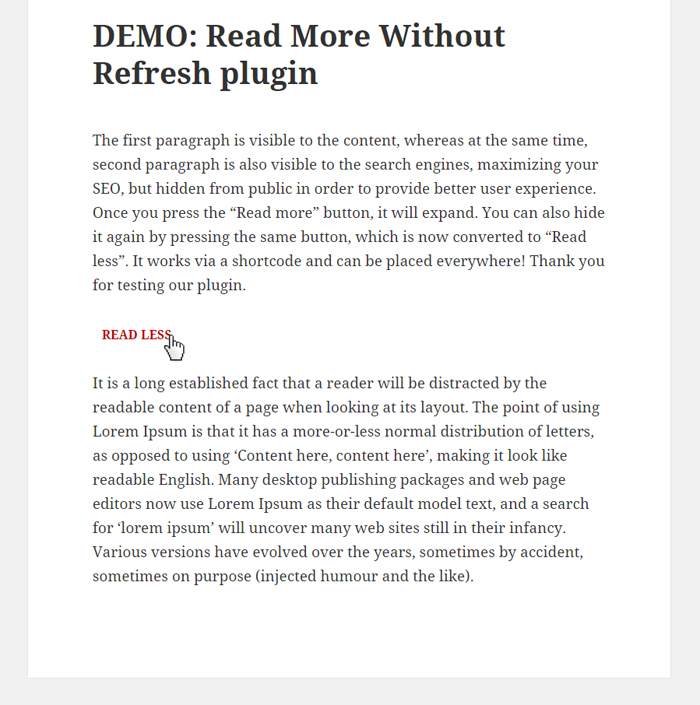 read-more-without-refresh screenshot 2