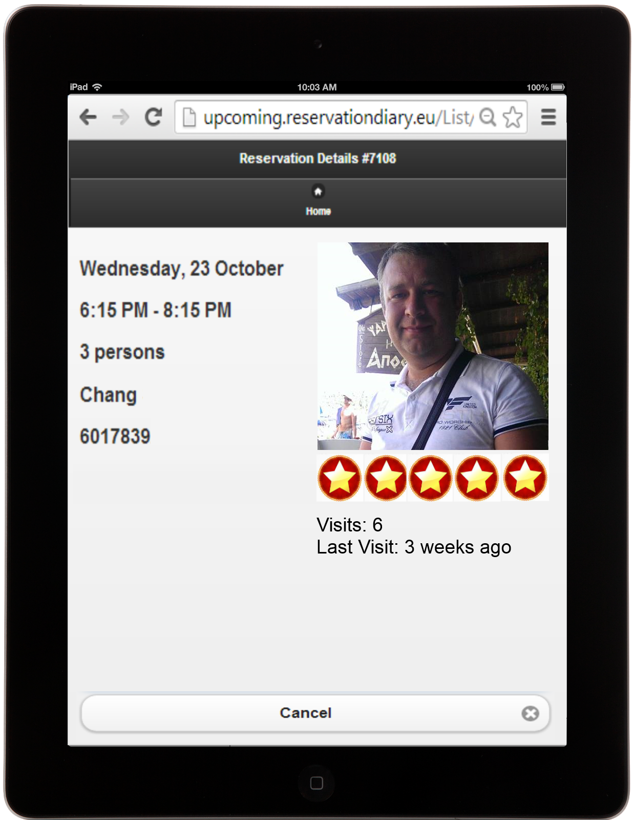 redi-restaurant-reservation screenshot 10