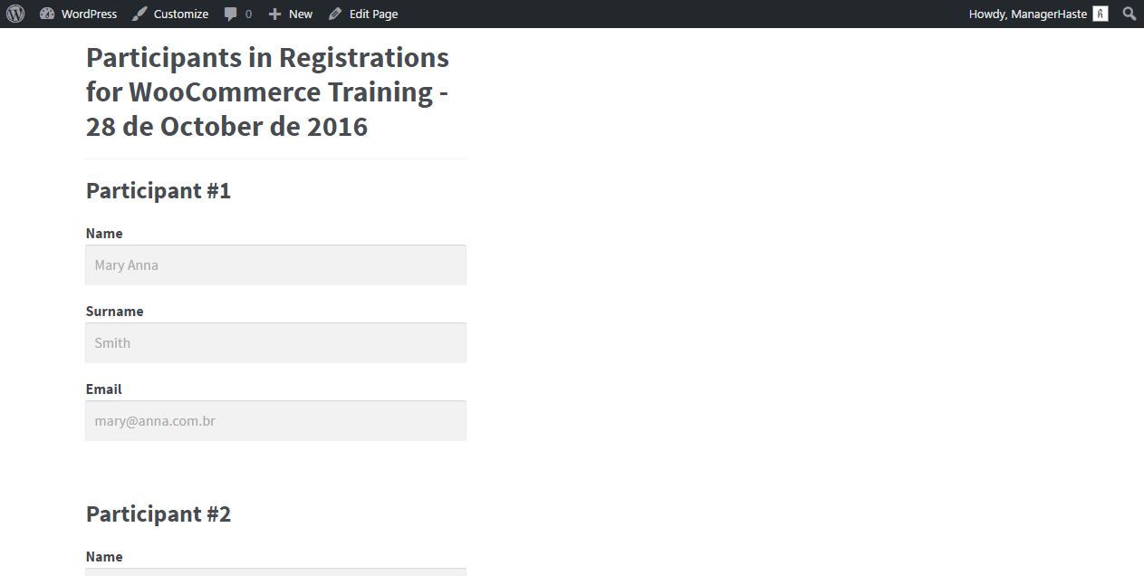 registrations-for-woocommerce screenshot 7