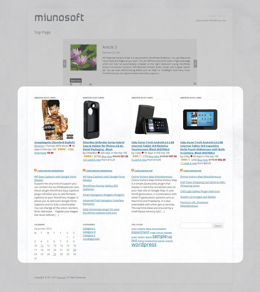 responsive-column-widgets screenshot 3