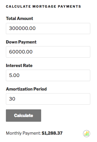 responsive-mortgage-calculator screenshot 2