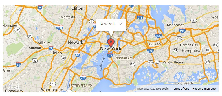 responsive-styled-google-maps-simplified screenshot 1