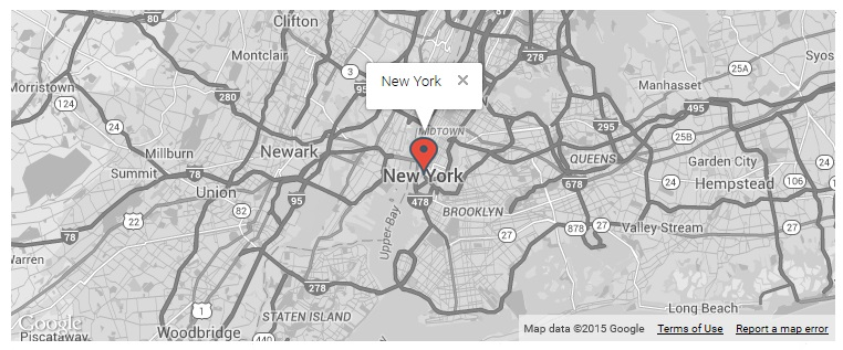 responsive-styled-google-maps-simplified screenshot 2