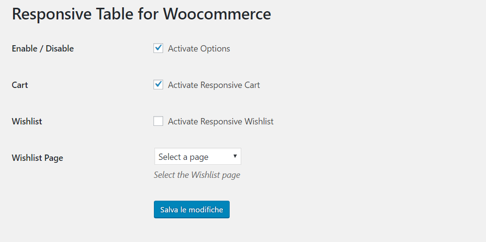 responsive-table-for-woocommerce screenshot 1