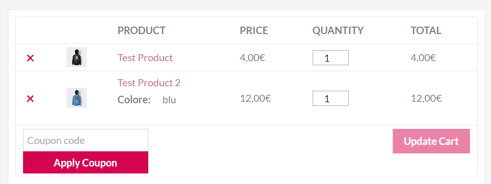 responsive-table-for-woocommerce screenshot 2