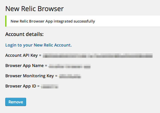 rt-newrelic-browser screenshot 4