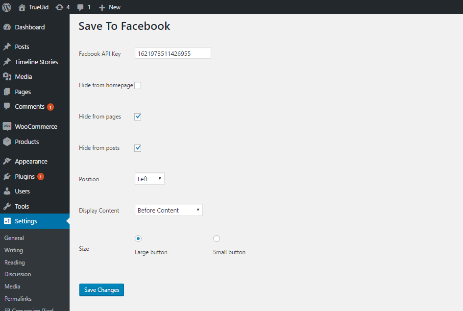 save-to-facebook screenshot 2