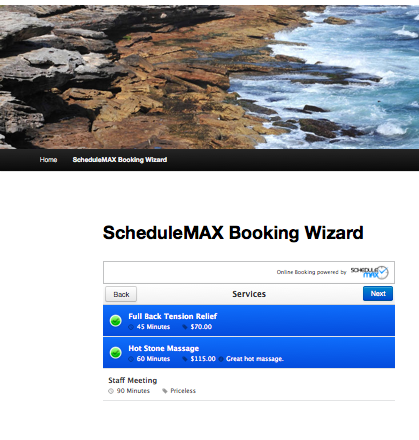 schedulemax-online-scheduling screenshot 1