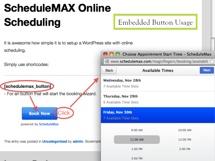 schedulemax-online-scheduling screenshot 2