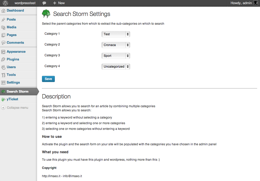 search-storm screenshot 1