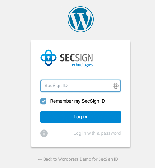 secsign screenshot 1