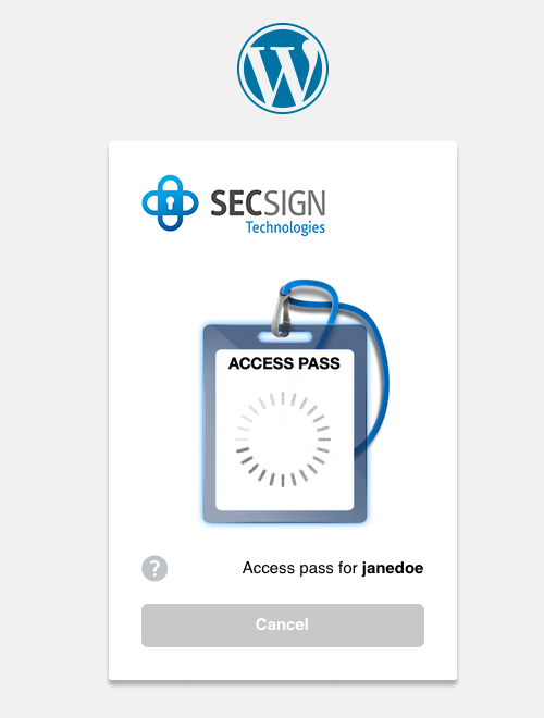 secsign screenshot 2