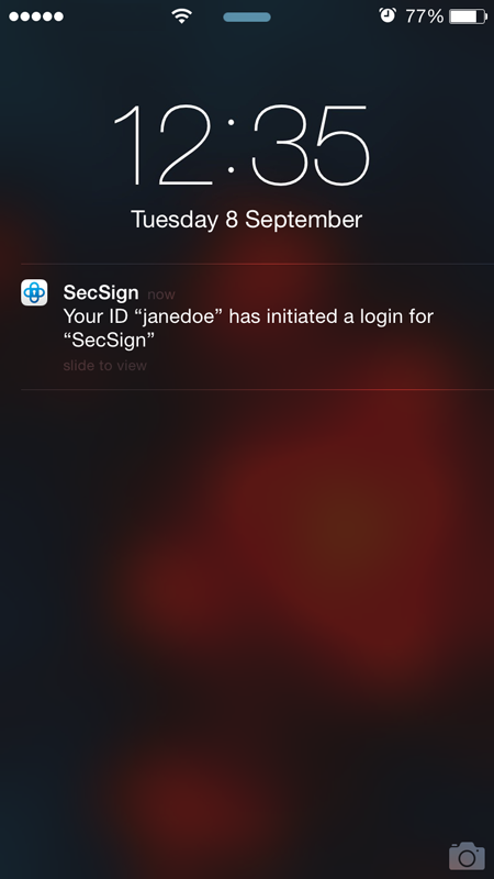 secsign screenshot 4