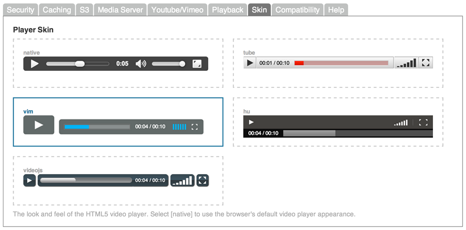 secure-html5-video-player screenshot 2
