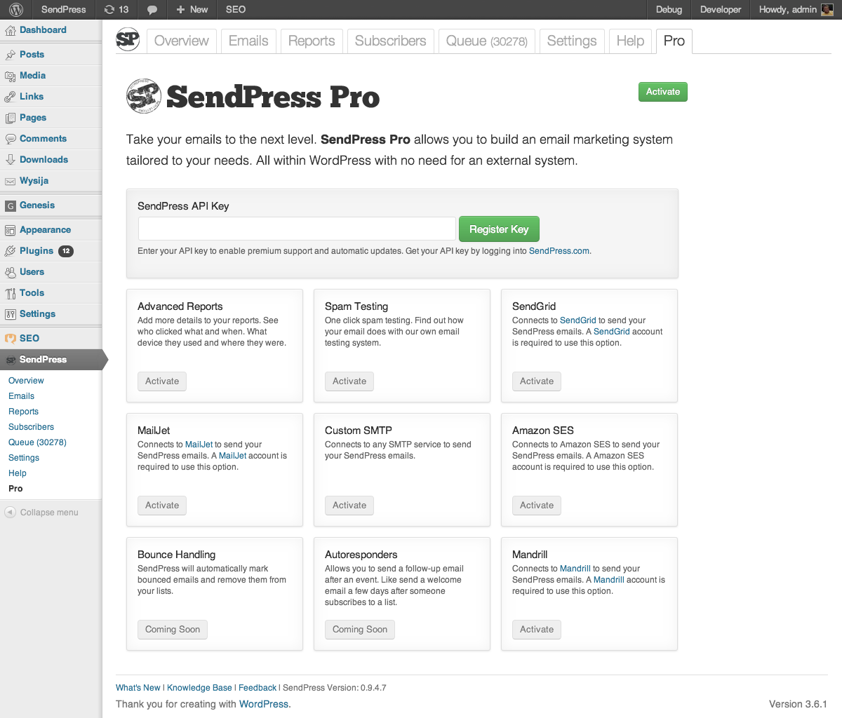 sendpress screenshot 15
