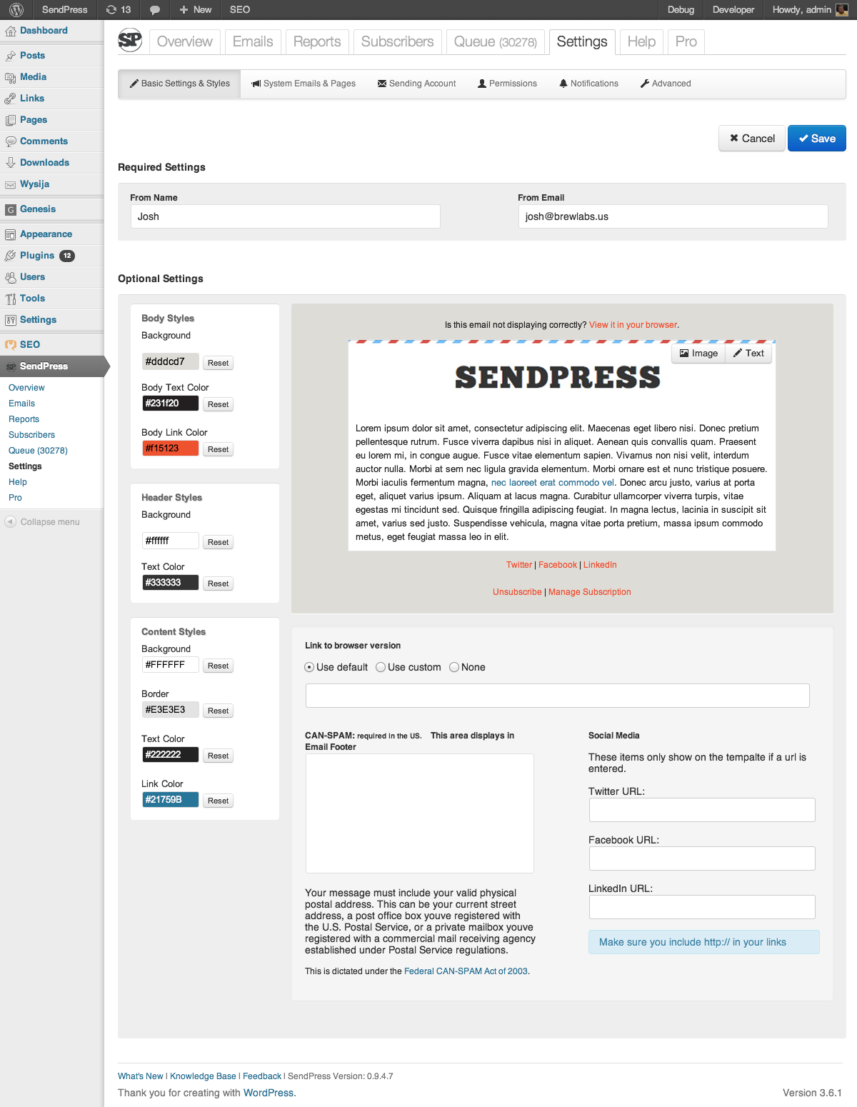 sendpress screenshot 8
