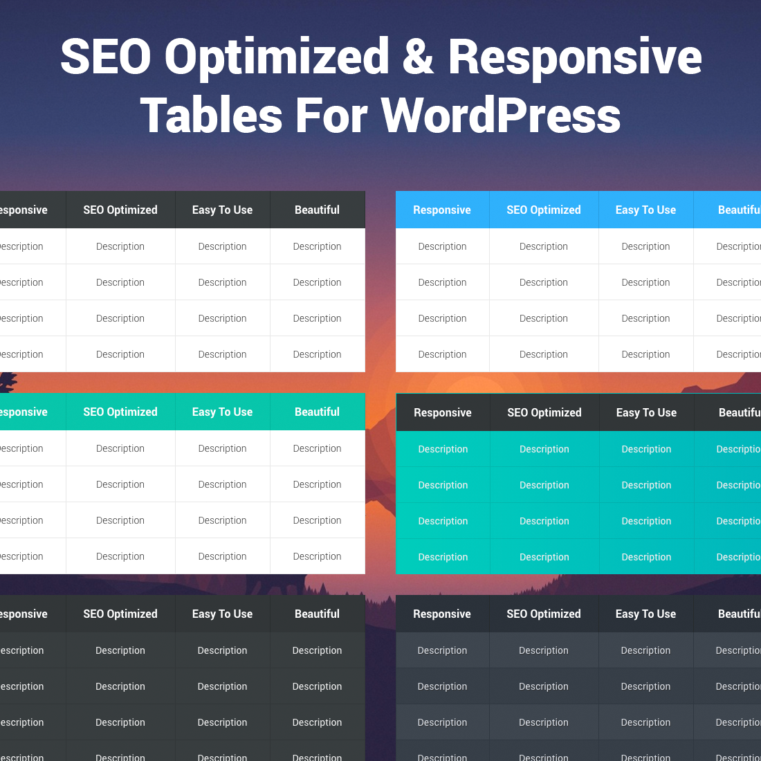 seo-friendly-tables-responsive screenshot 1
