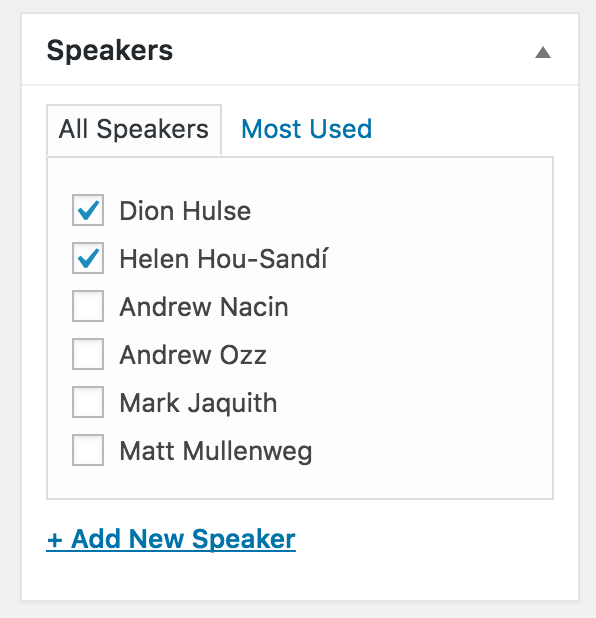 seriously-simple-speakers screenshot 3