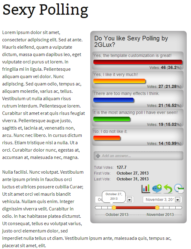 sexy-polling screenshot 1