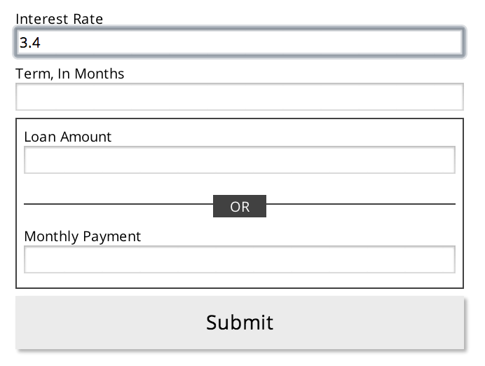 simple-finance-calculator screenshot 1