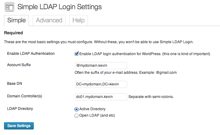 simple-ldap-login screenshot 1