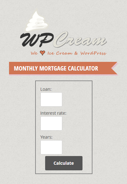 simple-mortgage-and-affordability-calculator screenshot 2