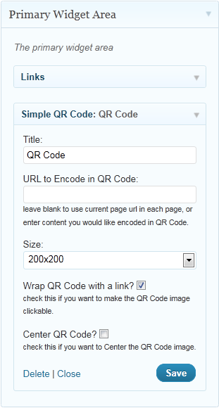 simple-qrcode screenshot 3