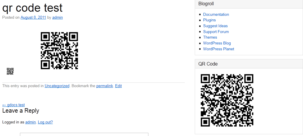 simple-qrcode screenshot 4