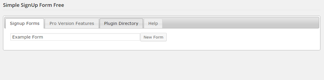 simple-signup-form screenshot 1
