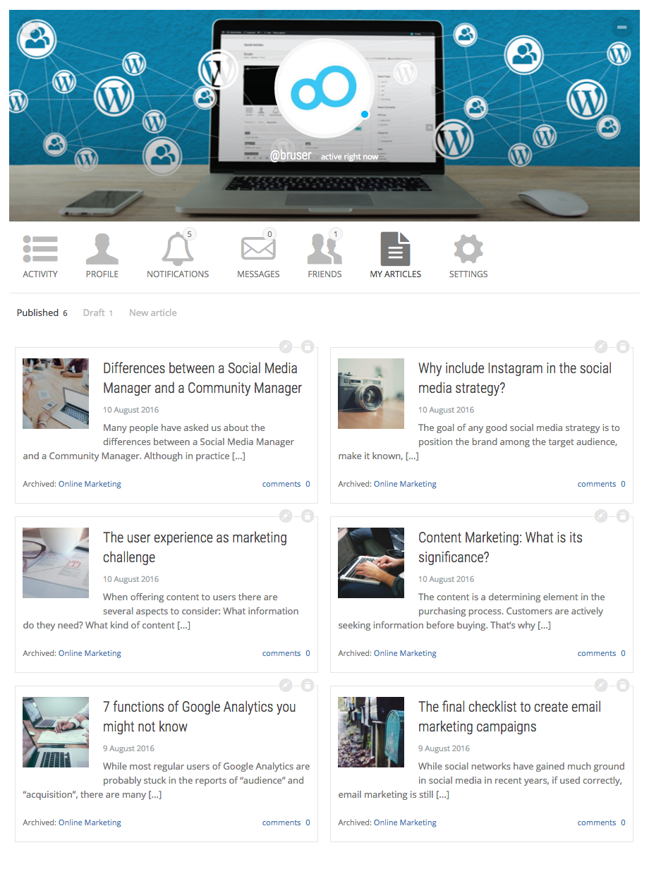 social-articles screenshot 2