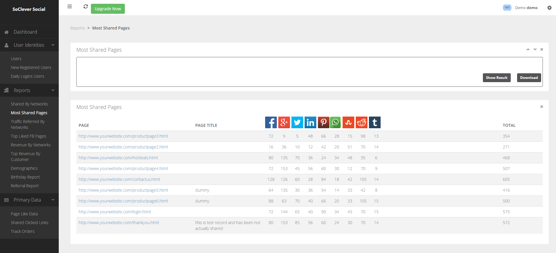 social-login-sharing-buttons-with-analytics-by-soclever screenshot 4