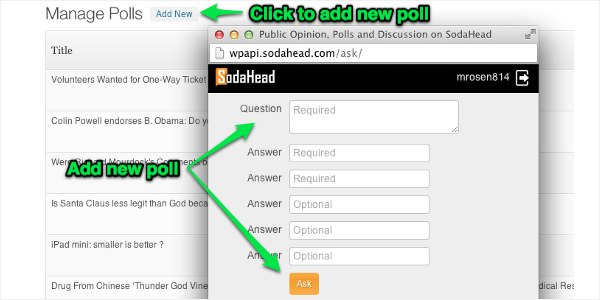 sodahead-polls screenshot 4