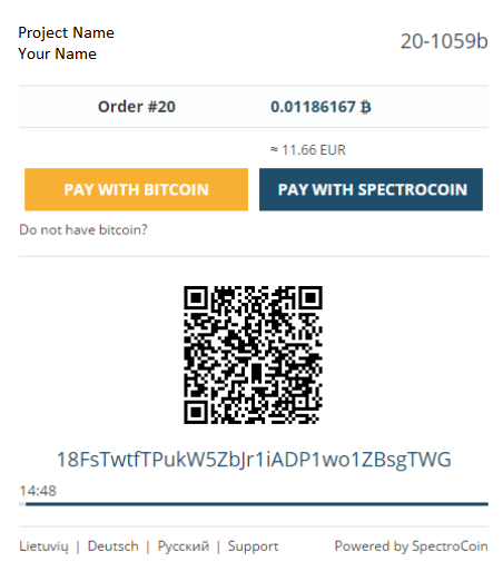 spectrocoin-accepting-bitcoin screenshot 3