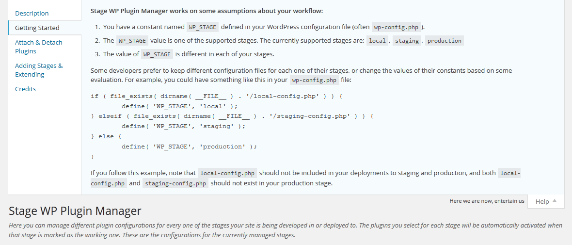 stage-wp-plugin-manager screenshot 3