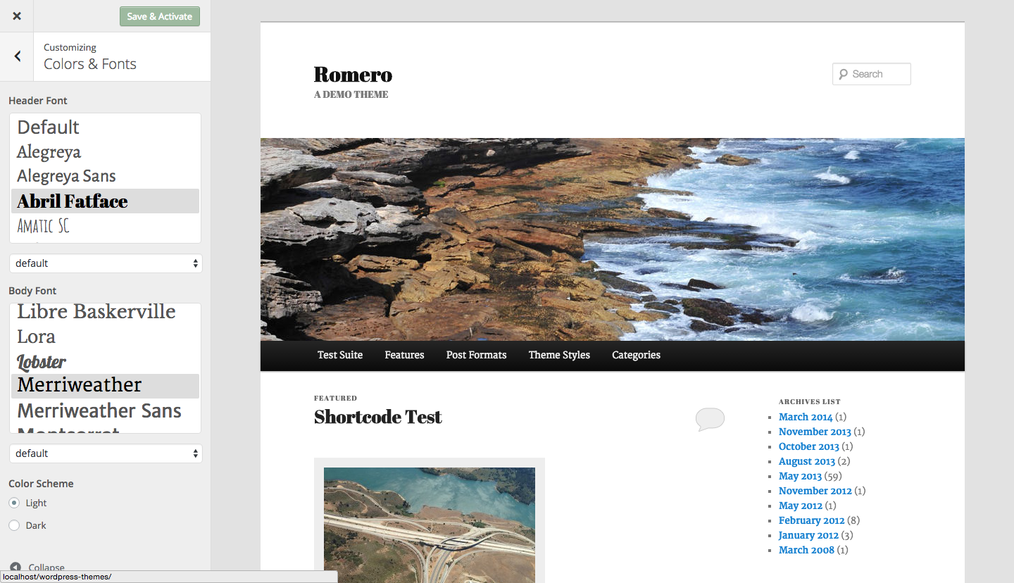 styleguide screenshot 1