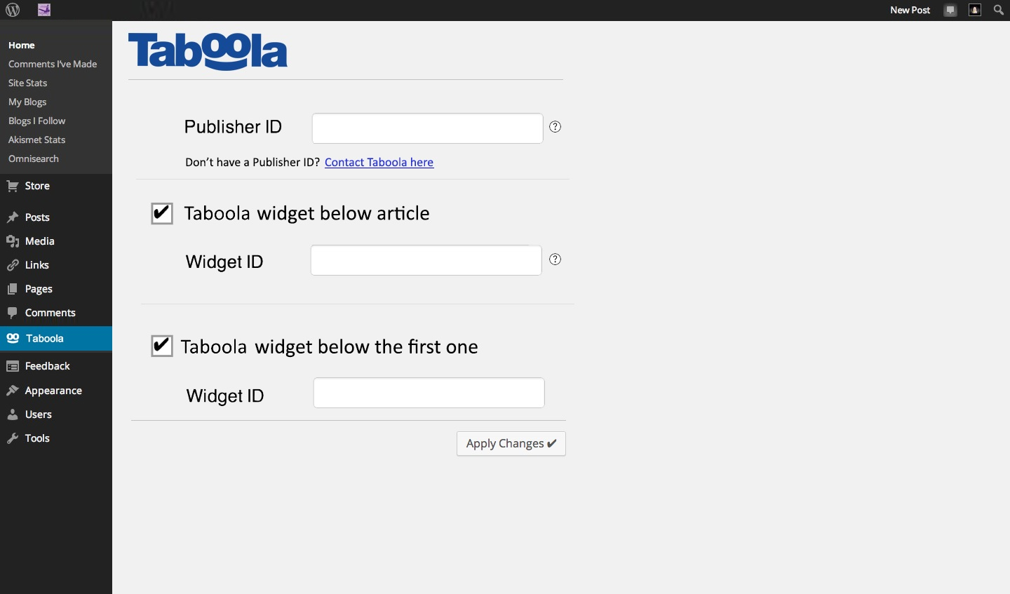 taboola screenshot 1