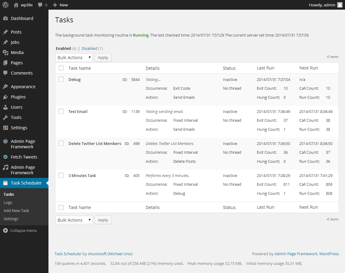 task-scheduler screenshot 1