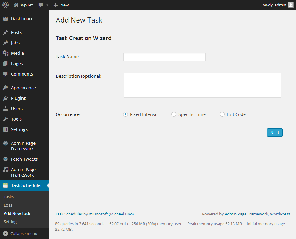 task-scheduler screenshot 2