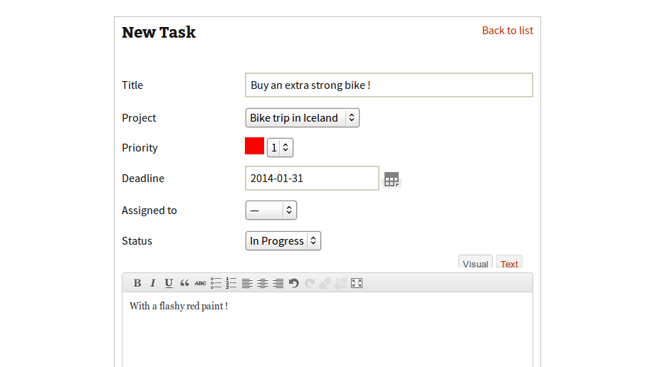 taskfreak screenshot 7