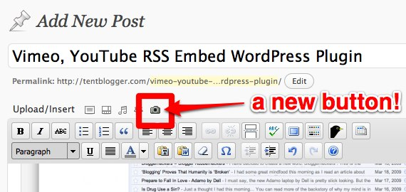 tentbloggers-vimeo-youtube-rss-embed screenshot 2
