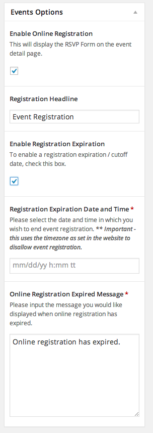 the-events-calendar-registration screenshot 3