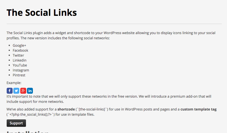 the-social-links screenshot 2
