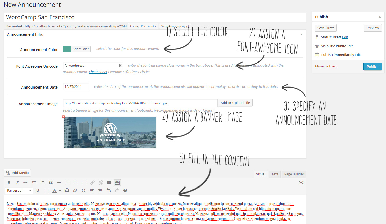 timeline-express screenshot 1