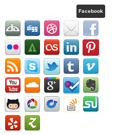 tipsy-social-icons screenshot 2