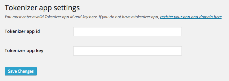 tokenizer-two-factor-authentication screenshot 1