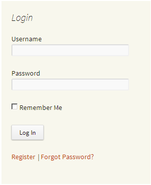tt-sidebar-login-widget screenshot 1