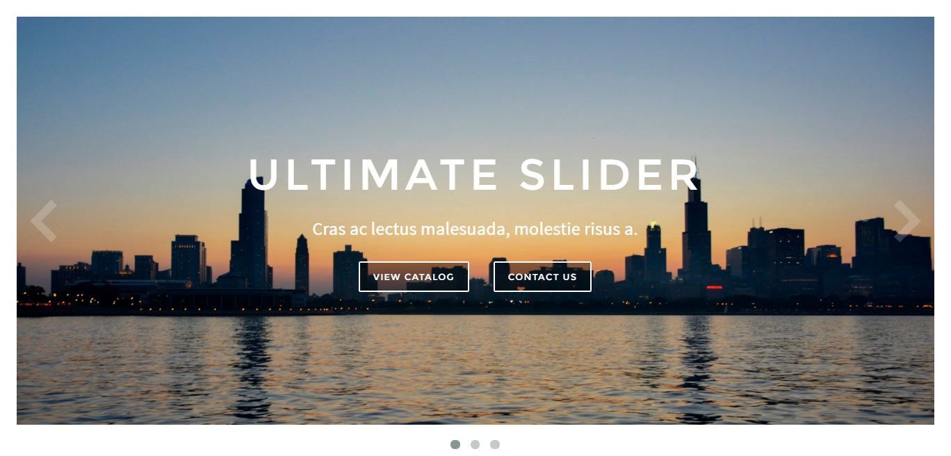 ultimate-slider screenshot 1