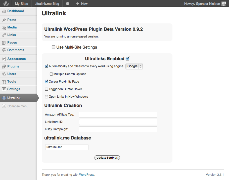 ultralink screenshot 2