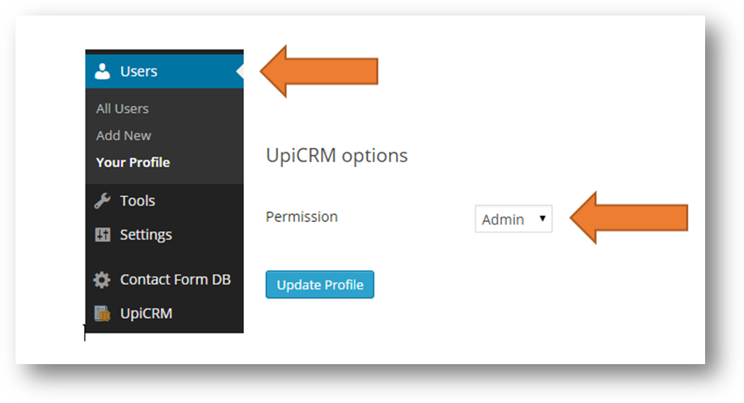 upi-crm-universal-crm-solution screenshot 1