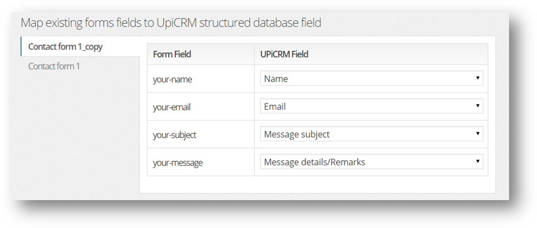 upi-crm-universal-crm-solution screenshot 3